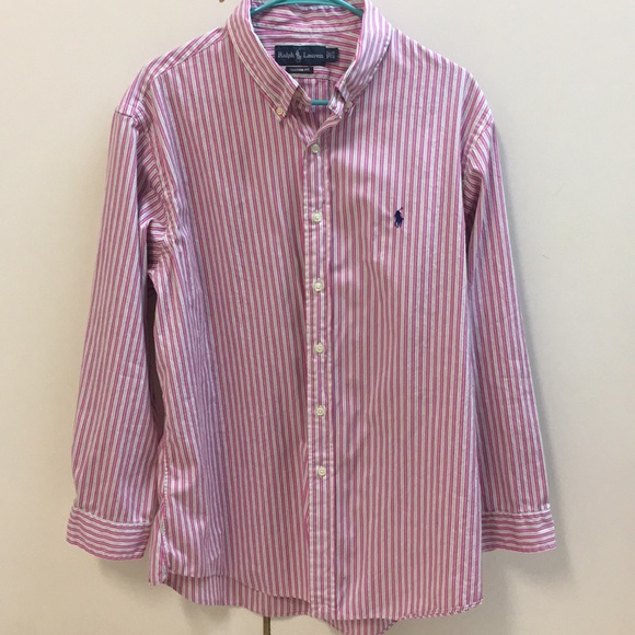 1d2b5a0d82 Polo Ralph Lauren Men's Custom Fit Button Down. M_5b78d567b6a942714b40a532
